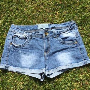 Rewind blue jean shorts
